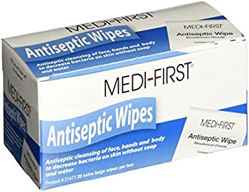 20-Pack Medi-First Antiseptic Wipes