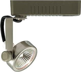 Jesco Lighting HLV13250WH Mini Deco 132 Series Low Voltage Track Light Fixture, 50 Watt, White Finish