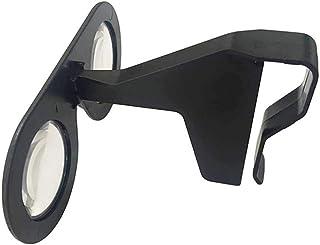 AndroidおよびiOSスマートフォン用ポータブルバーチャルリアリティ3Dビューアメガネ、黒