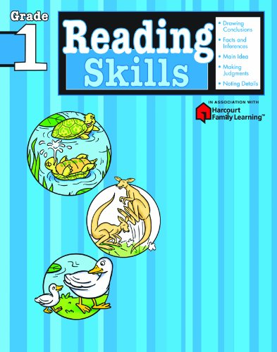 Compare Textbook Prices for Reading Skills: Grade 1 Flash Kids Harcourt Family Learning Workbook Edition ISBN 9781411401136 by Flash Kids Editors