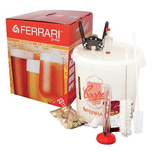 KIT FERMENTAZIONE Birra 32 LITRI fatta in casa fai da te - Ferrari Group - senza malto