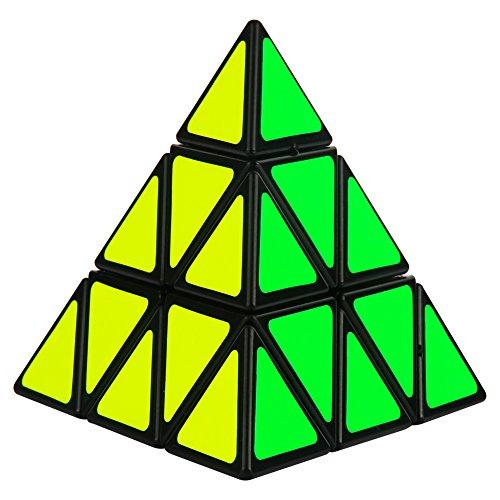 genorth® Cube Triangle Pyramide vitesse Google Magic Cube Puzzle Twist Jouet Jeu Éducatif Cadeau pour Enfant