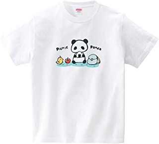 ピクニックぱんだ(Tシャツ?ホワイト) (あずき*)