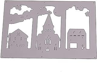 Metal Die Cuts,Castle Cutting Dies Cut Stencils for DIY Scrapbooking Photo Album Decorative Embossing Paper Dies for Card Making Template
