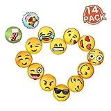 Emoji Magnete für Magnettafel & Kühlschrank