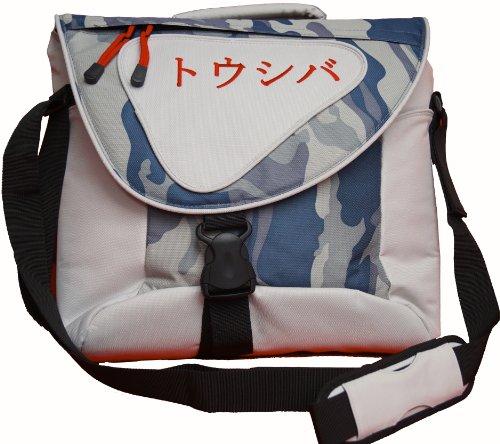 Toshiba Messenger Bag Polar with Katakana Logo 15.4Zoll Messengerhülle Grau - Notebooktaschen (Messengerhülle, 39,1 cm (15.4 Zoll), 900 g, Grau)