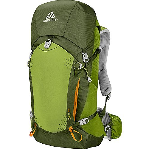Gregory Mountain Products Zulu 35 Liter Men's Backpack, Moss Green, Large