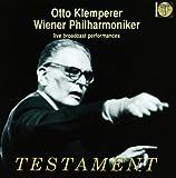 Klemperer: Live Broadcast Performances - Anton Bruckner, Franz Schubert, Gustav Mahler, Jean-Philippe Rameau, Johann Sebastian Bach, Johannes Brahms, Ludwig van Beethoven, Wiener Philharmoniker