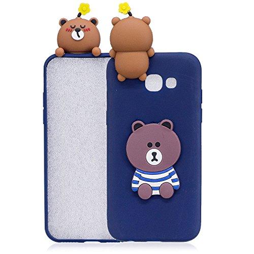 Sundekun SZ caso para Samsung Galaxy A7 2017 A720S teléfono caso cubierta 3