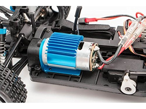 RC Auto kaufen Buggy Bild 6: s-idee® 18130 A959-A RC Auto Buggy Monstertruck 1:18 mit 2,4 GHz 35 km/h schnell, wendig, voll digital proportional 4x4 Allrad WL Toys ferngesteuertes Buggy Racing Auto*