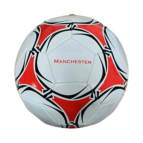 Manchester United Supporters Size 5 Club Football | Gift for Men, Boys & Fans | 33 Panels Machine Stitched