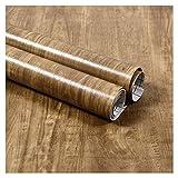 ZSFBIAO Pellicola da Cucina PVC Impermeabile Antibatterico e Anti-umidità per Mobili Realizzazione di Superfici Facile da Pulire Rivestimento Carta Adesiva Legno (Size:20cm*10m,Color:2Rosewood)