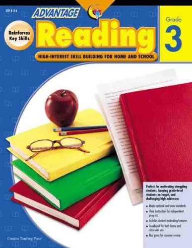 Advantage Reading, Grade 3: High-Interest Skill Building for Home and School