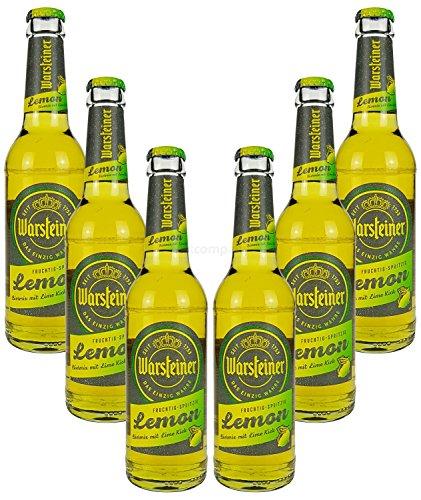 Warsteiner Lemon Bier (2,9% Vol) ? Biermix mit Lime Kick ? 6x 330ml = 1980ml inkl. Pfand -[Enthält Sulfite] - Inkl. Pfand MEHRWEG
