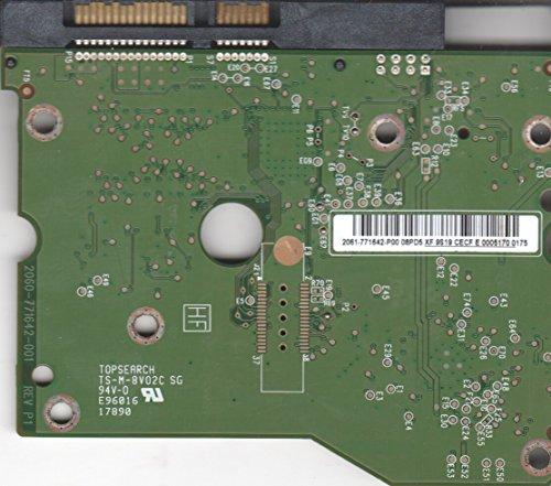 WD2002FYPS-12U1B1, 2061-771642-P00 08PD5, WD SATA 3.5 PCB