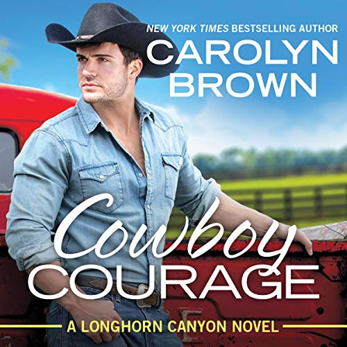 Cowboy Courage audiobook cover art