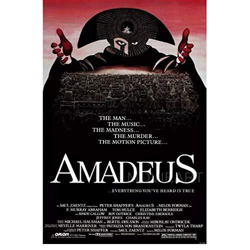 AMADEUS film affiche peintures impressions sur toile Art mural pour salon chambre décor 24x36 pouces pas de cadre
