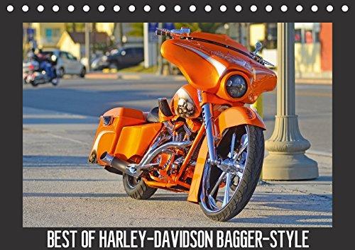 BEST OF HARLEY-DAVIDSON BAGGER-STYLE (Tischkalender 2018 DIN A5 quer): Best of Harley-Davidson Bagger Style auf der Daytona Bike-Week in den USA / Florida (Monatskalender, 14 Seiten )