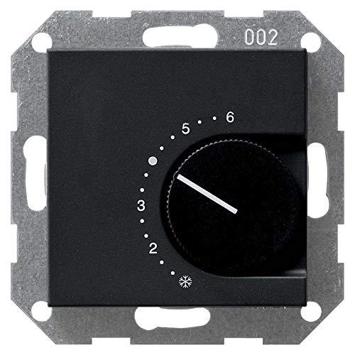 Gira Raumtemperaturregler sw 0390005 230/10(4) A Öffner System 55 Raumthermostat 4010337037385