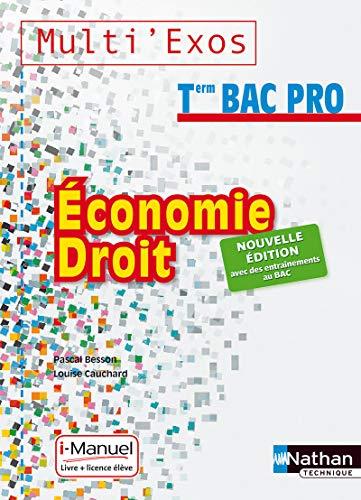 Economie-Droit Tle Bac Pro Tertiaires