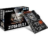 ASRock Motherboard ATX DDR4 LGA 1151 Z170A-X1/3.1