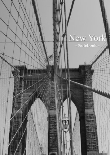 New York - Notebook: Notizbuch, DIN A4, liniert