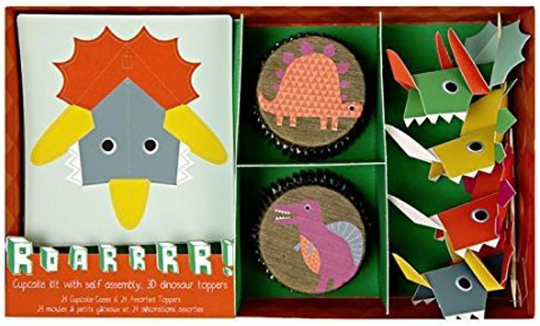 Meri Meri 451201 Dinosaur Cupcake Kit Novelty by Meri Meri