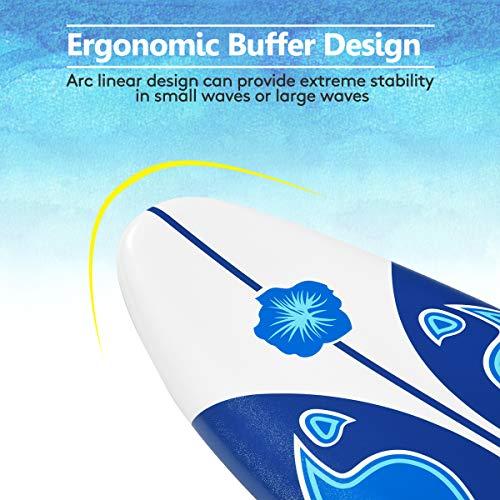 Giantex 6' Surfboard