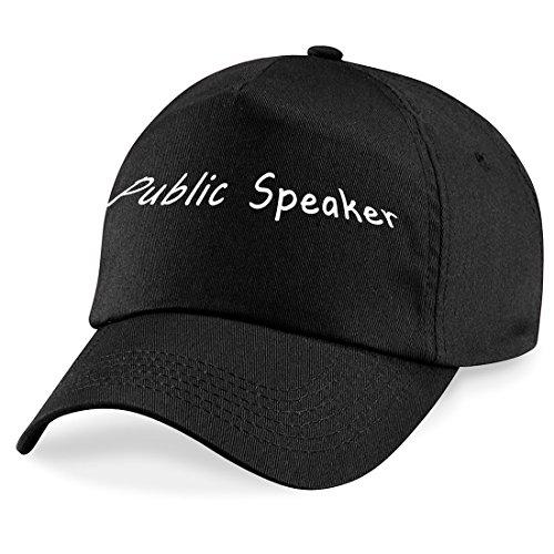 Preisvergleich Produktbild Public Lautsprecher Baseball Cap Hat Public Lautsprecher Worker Geschenk