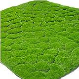 人工苔芝シミュレーション苔芝生偽苔芝DIYマイクロ風景結婚式ホームガーデン鉢植えショップウィンドウ装飾-緑と緑