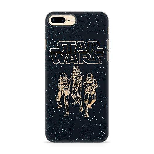 Ert Group SWPCSW1855 Cubierta del Teléfono Móvil Star Wars 005 iPhone 7 Plus/ 8 Plus