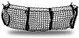 Zento Deals Heavy Duty Stretchable Black Mesh Net Cargo Trunk Storage Organizer- Keeping Things Secured and More Organize ...