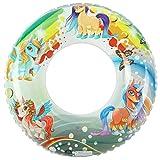 Inflable de Anillo de Natación Unicornio,Anillo de Baño de Amor para Fiesta en...