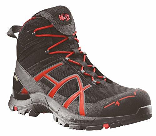 Haix Black Eagle Safety 40 Mid Black/red 610018 - 9 UK