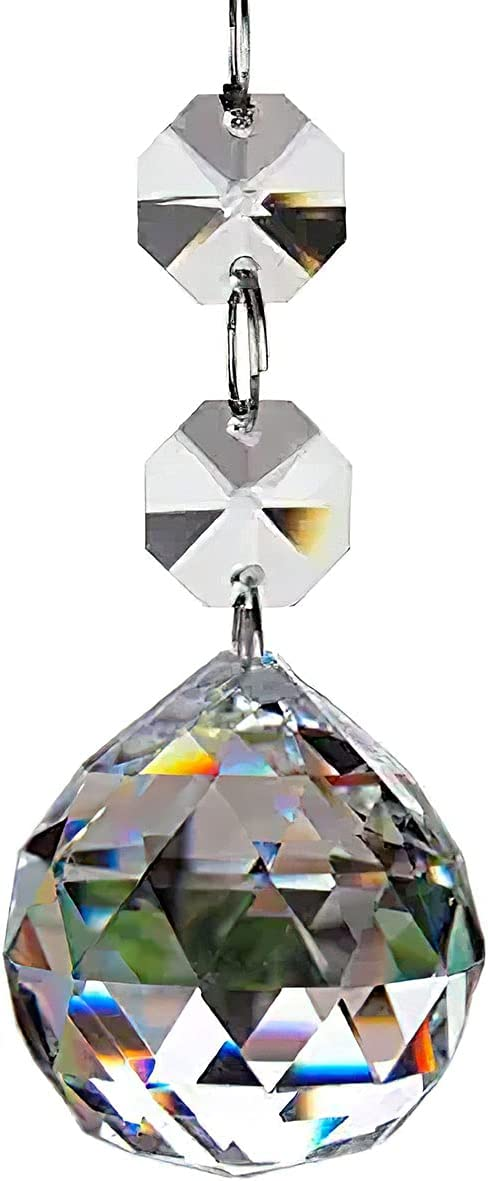 Kmiles 20pcs Crystal Boston Mall Glass Ball Max 45% OFF Pendants Parts Chandelier Prisms
