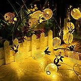 Encham LED Lichterkette Ananas 10 Deko Stimmungslichter für Party, Weihnachten, Halloween in Zimmer...