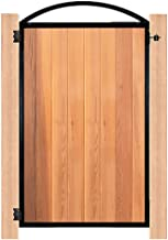 """Nuvo Iron Decorative Strong Gate Frame Kit Pro 8 with Arch (Designed for Opening 47"""" Wide)"""