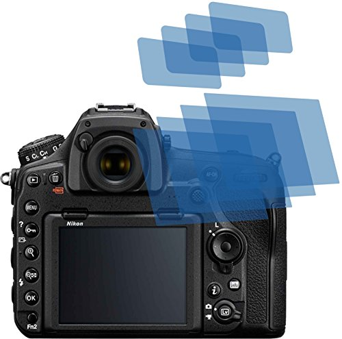4ProTec I 4X Crystal Clear klar Schutzfolie für Nikon D850 Bildschirmschutzfolie Displayschutzfolie Schutzhülle Bildschirmschutz Bildschirmfolie Folie