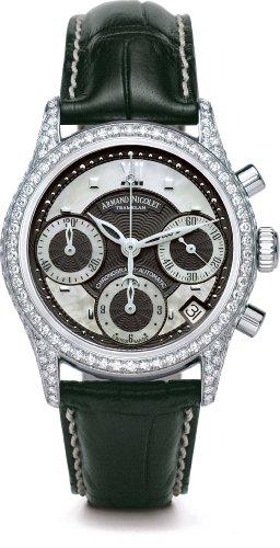 Armand Nicolet Damen-Armbanduhr mit Diamanten
