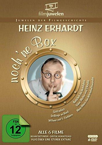 Heinz Erhardt - noch 'ne DVD Box (6 Kultfilme + Bonus-Filmclips) - Filmjuwelen
