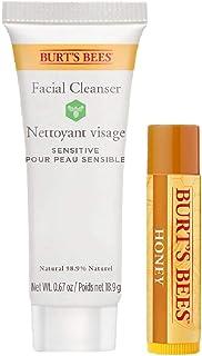 Burt's Bees Kit natural para labios y rostro burt's bees limpieza facial 2 un