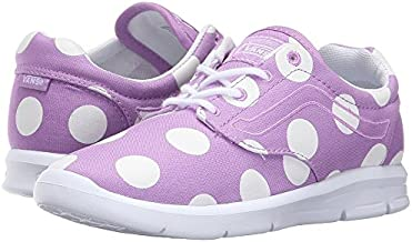 Vans Girl's Iso 1.5 (Dots) African Violet/White Running Trainers Shoes