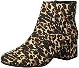 Kenneth Cole REACTION Women's Road Stop Ankle Boot, Leopard, 7.5 Medium US