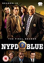 NYPD Blue Complete Season 12 [DVD] [Import] by Dennis Franz