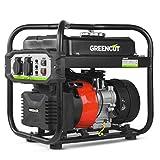 GREENCUT GRI200XM - Generador eléctrico de gasolina inverter motor 4 tiempos 119cc con salida 2kw