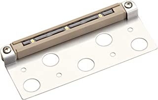 Kichler  15745SD Design Pro 6.9-Inch Deck, Step, and Bench LED Landscape Fixture with Bracket, Sand Finish