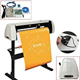 Pevor Vinyl Cutter 28 Inch Plotter Machine 720mm Paper Feed Vinyl Cutter Plotter Software Sign Making Machine with Stand