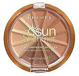 Rimmel Sun Shimmer Bronzing Compact Powder - Bronze Goddess No.002 - 9,9g