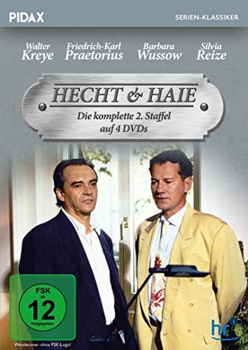 Hecht & Haie, Staffel 2 / Weitere 13 Folgen der Kult-Serie (Pidax Serien-Klassiker) [4 DVDs]