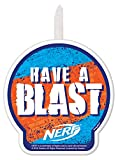 Nerf'Have a Blast' Birthday Candle - 1 pc